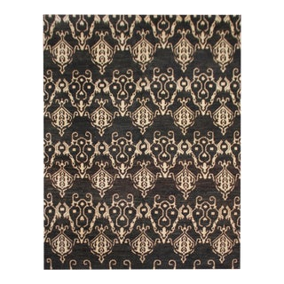 "Hand Knotted Ikat Rug by Aara Rugs Inc. - 9'5"" X 11'9"""