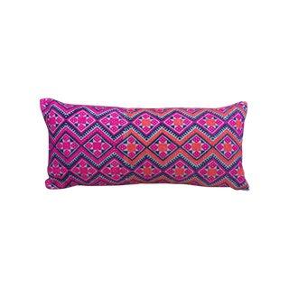 """Vintage Textile Pillow 11"""" X 24"""""""