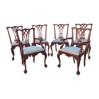Bevan Funnel Chippendale Chairs - Set of 6