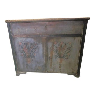 Antique Italian Painted Buffet/Commode