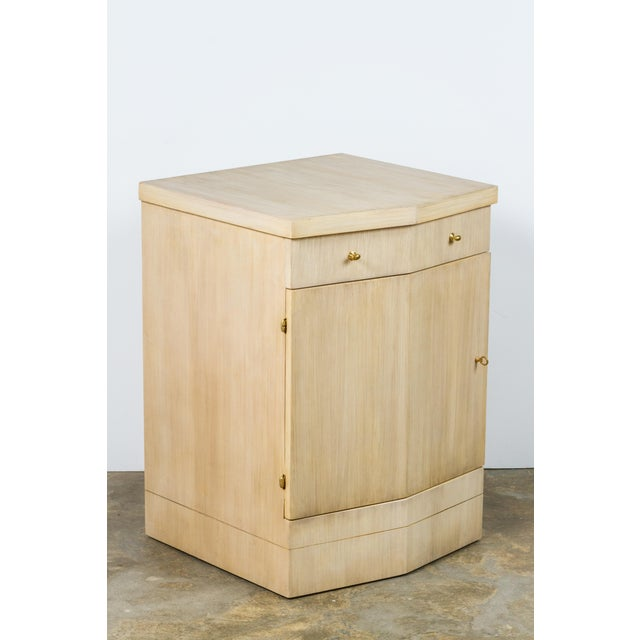 Image of Paul Marra Pinnacle Nightstand in Bleached Douglas Fir