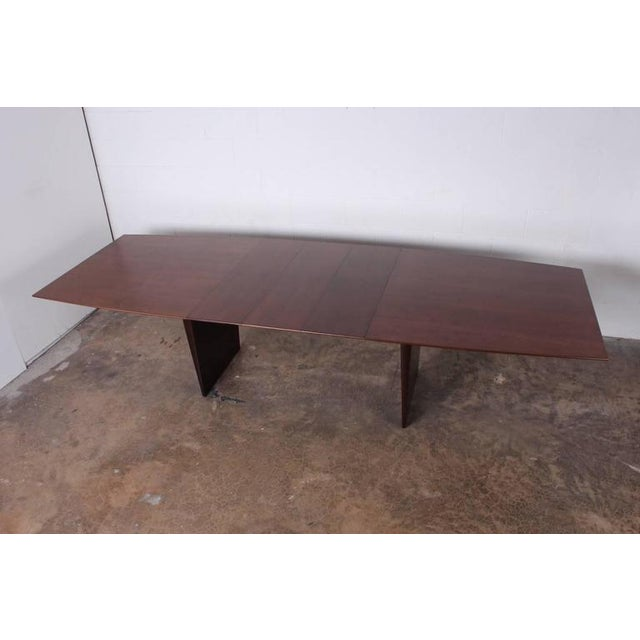 Large Walnut Dining Table by Edward Wormley for Dunbar - Image 6 of 10