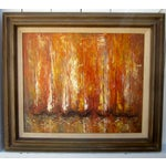 Image of Modernist Abstract Painting - Cityscape/Waterscape