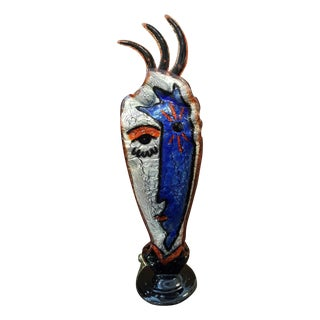 Angel & Devil Glass Sculpture Silvio Vigliaturo