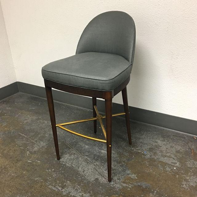Hickory Chair Laurent Bar Stool - Image 3 of 7