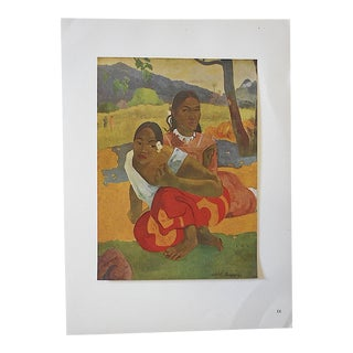 1949 Paul Gauguin Vintage Ltd. Ed. Post Impressionist Lithograph
