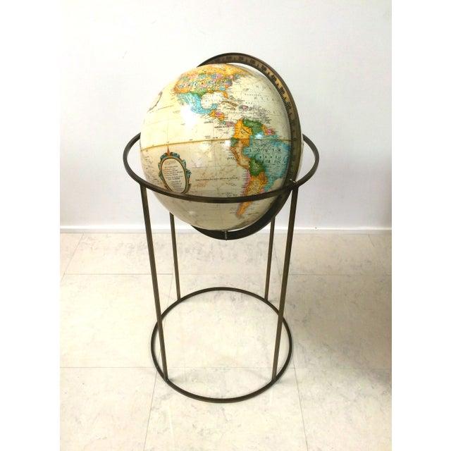 Vintage Paul McCobb Globe on Brass Stand - Image 2 of 6