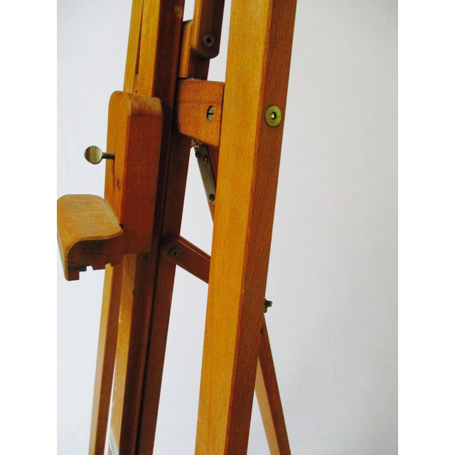 French Standing Wood Easel - Image 4 of 6