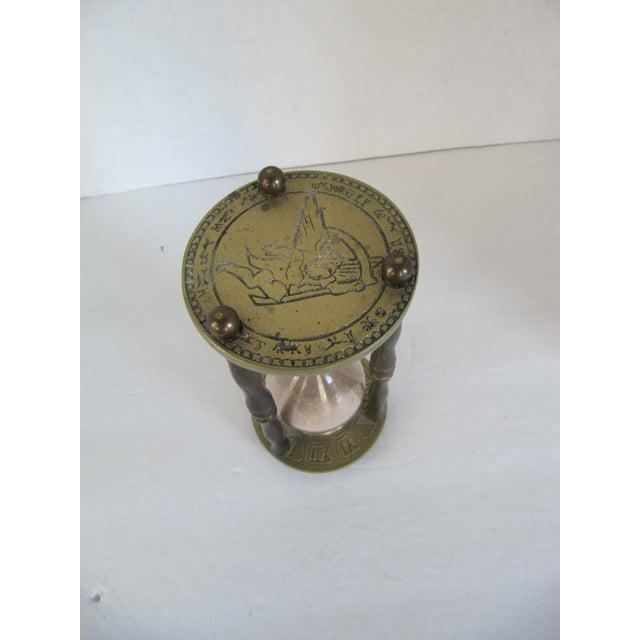 Vintage Brass Zodiac Hour Glass - Image 5 of 6