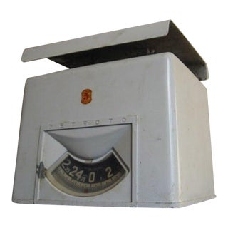 1950s Detecto Metal Scale