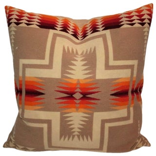 Pendleton Indian Camp Blanket Pillow