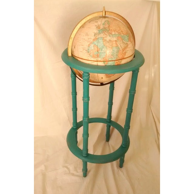 MCM Crams Imperial World Globe on Wooden Stand - Image 2 of 10