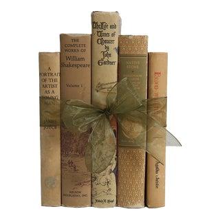 Vintage Book Gift Set: British Neutral Classics, S/5