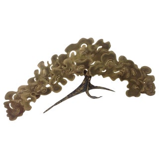 Silas Seandel Brass & Gold Tree Sculpture