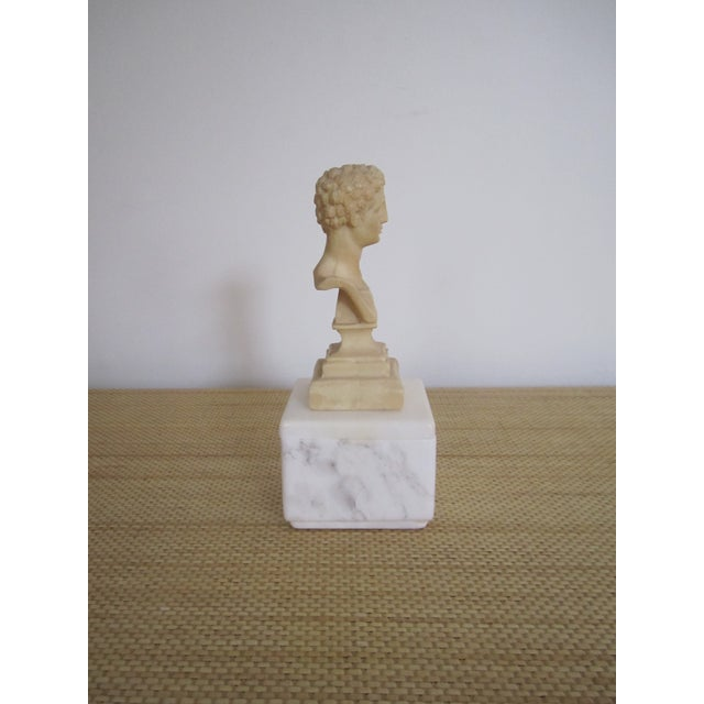 Image of Vintage Italian Classic Roman Sculpture or Bust