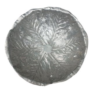 Mexican Cabbage Pewter Bowl
