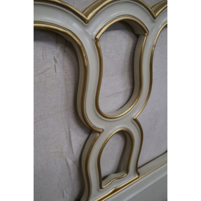 Drexel Vintage French Louis XV Style Headboard - Image 6 of 10