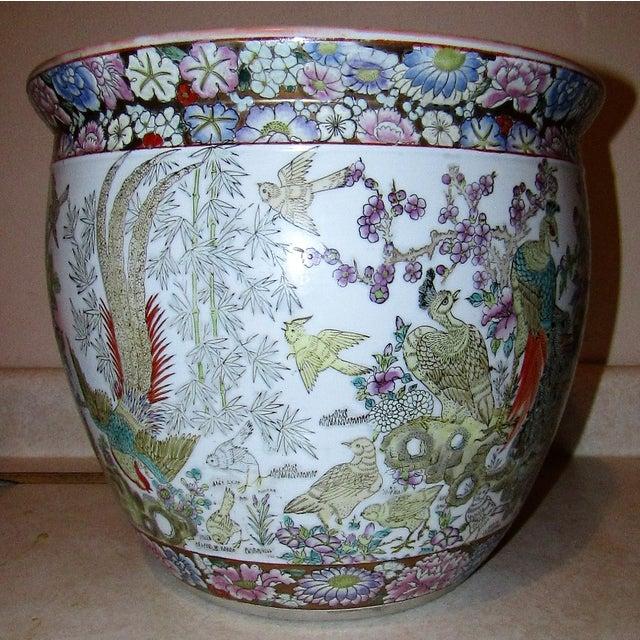 Asian Hand Painted Urn Style Vase Chairish