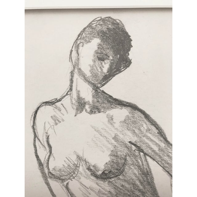 Vintage Figure Drawing by Rene Marcil - Image 5 of 6