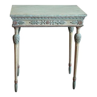 Period Neoclassical Console Table (#42-21)