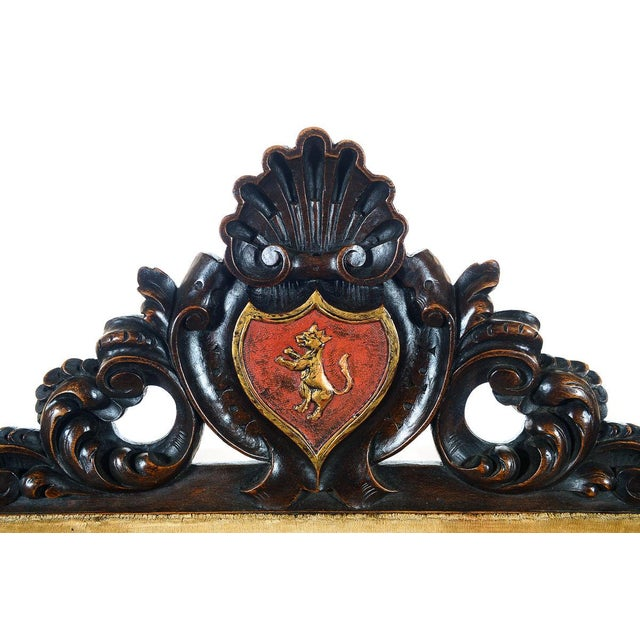 Spanish Renaissance -Carved Side Chairs -A Pair - Image 8 of 10
