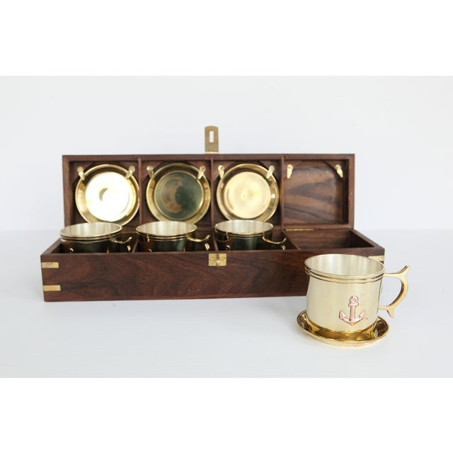 Nautical Captain's Cup and Saucer Box Set - Image 2 of 7