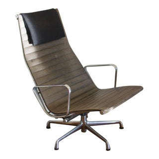 Eames for Herman Miller Aluminum Group Lounge Chair C. 1992