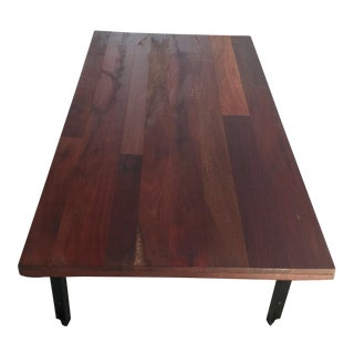 West Elm Natural Wood Coffee Table
