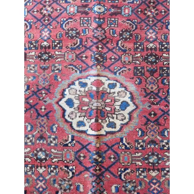 Image of Old Persian Hamadan Rug - 3′7″ × 5′