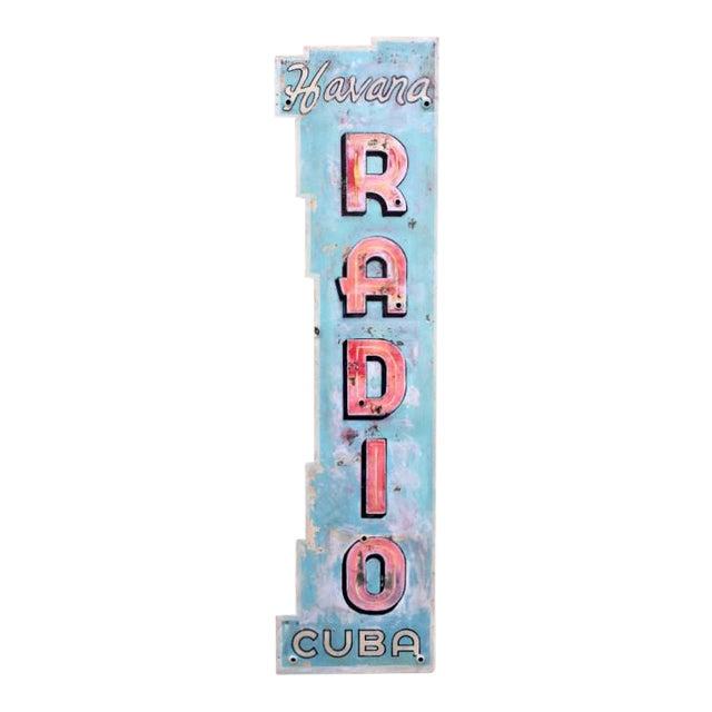 Radio Havana Cuba Neon Sign - Image 1 of 4