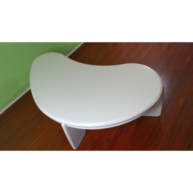 Kidney Shaped Coffee Table - Image 11 of 11