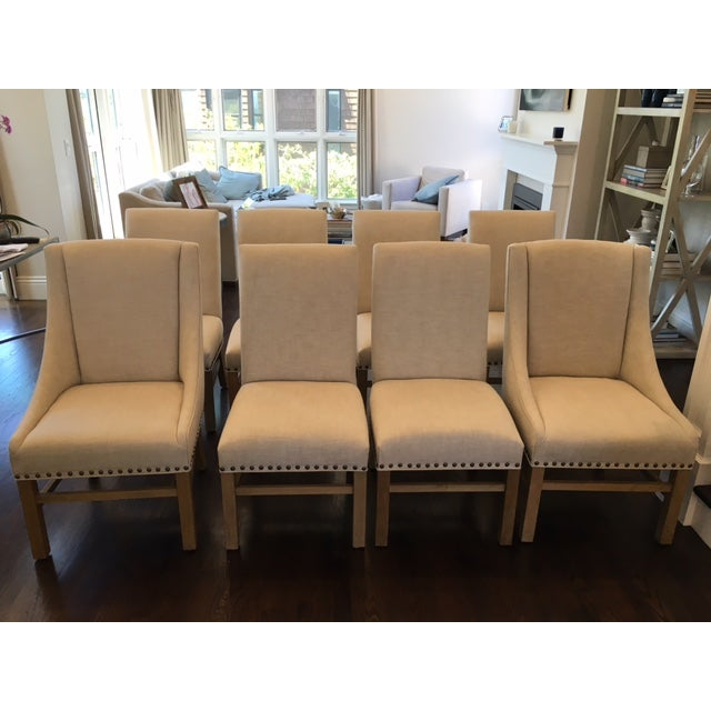 Restoration Hardware Dining Room Chairs: Restoration Hardware Dining Chairs - Set Of 8