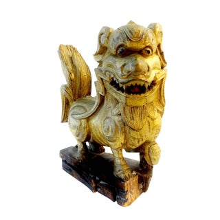 Antique Statue of Temple / Foo Dog