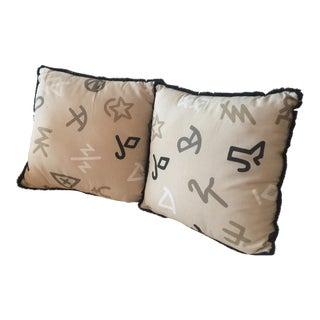 Cowboy Ranch Pillows - A Pair