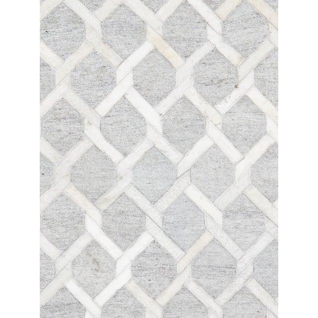 Pasargad Cowhide Hand-Loomed Sari Silk Rug - 2' X 3' - Image 2 of 4