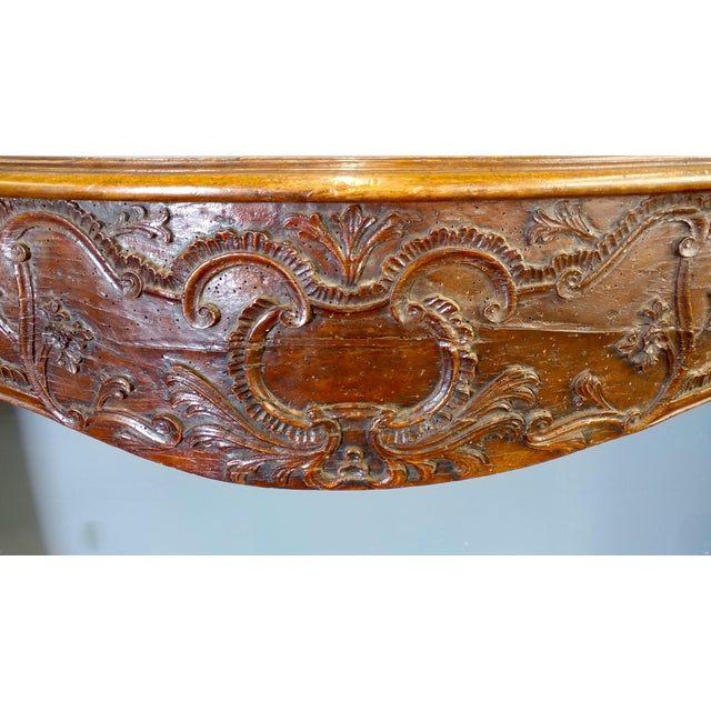 19th Century Hand Carved Walnut Fire Mantel - Image 5 of 10