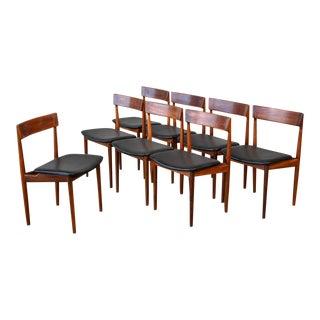 Set of Eight Rosengren Hansen Walnut Model 39 Chairs