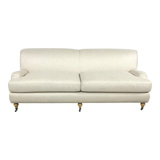 Light Gray Two Seater Sofa