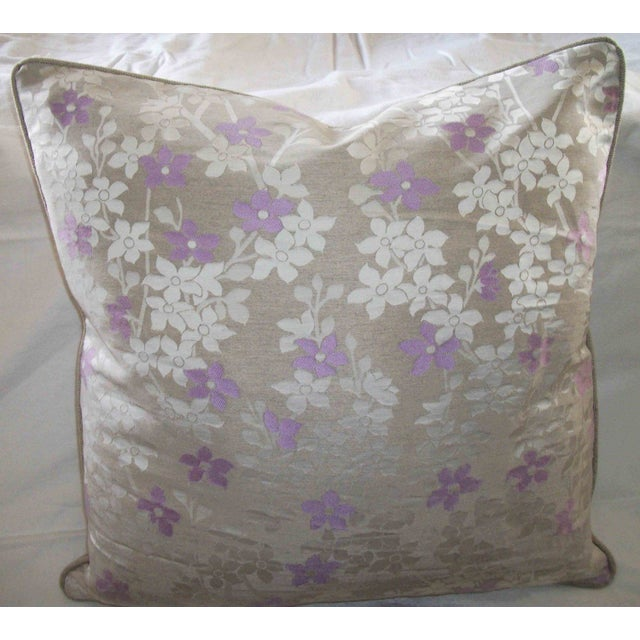 Nicotiana Accent Pillows - A Pair - Image 2 of 2