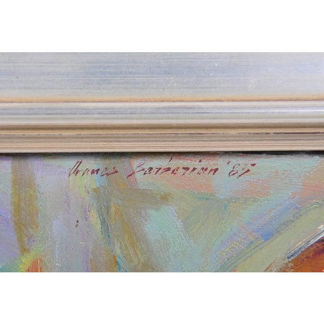 Ovanes Berberian Under the York Bridge Painting - Image 7 of 10