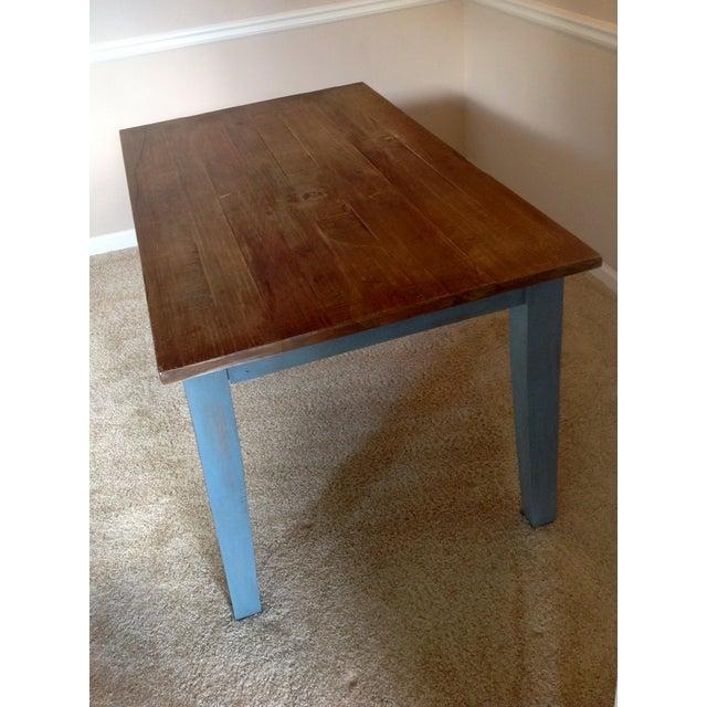Blue Farmhouse Table - Image 7 of 8