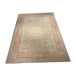 "Bellwether Rugs Vintage Inspired Turkish Oushak Area Rug - 9'8"" X 13'2"""