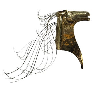 Curtis Jere Horse Wall Sculpture