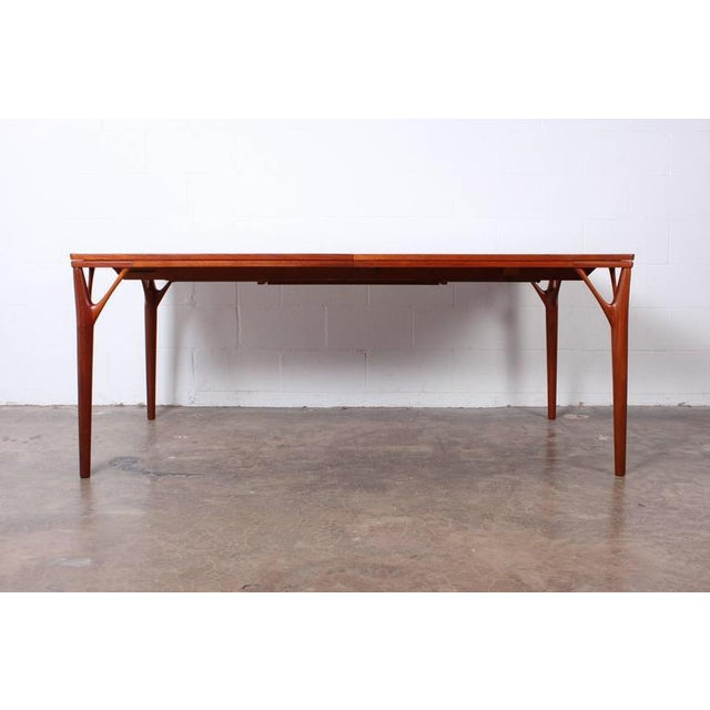 Sculptural Teak Dining Table - Image 5 of 10