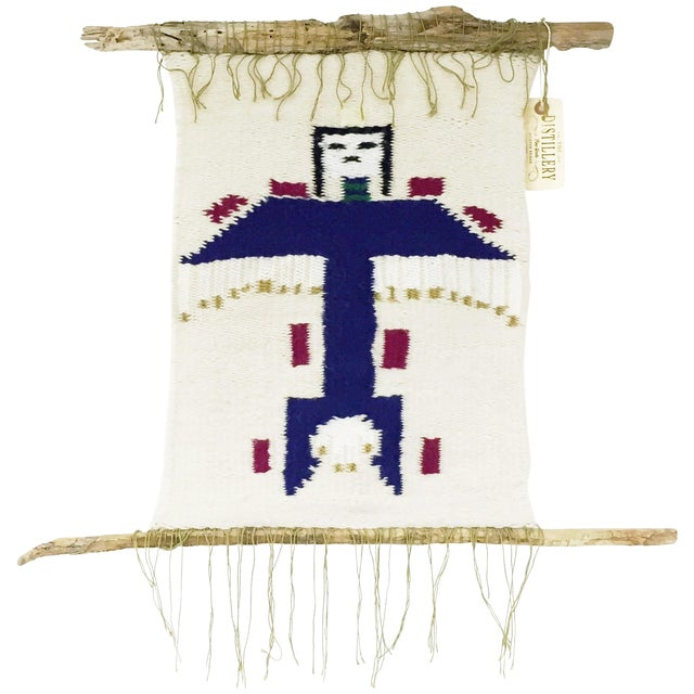 Image of Vintage Native American Kachina Wall Hanging