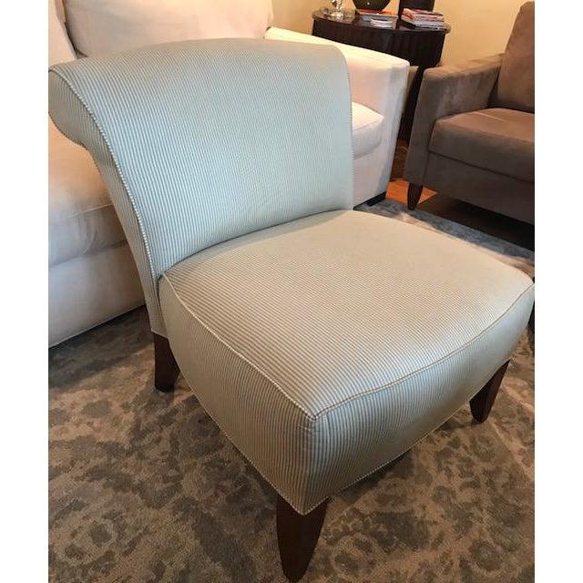 Ethan Allen Slipper Chair - Image 2 of 7