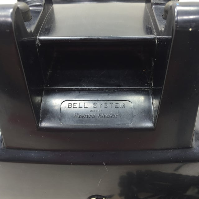 Black Western Electric 5302 Rotary Dial Telephone - Image 6 of 11