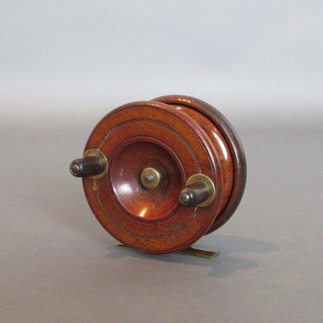 Vintage Center Pin Nottingham Style Fishing Reel - Image 6 of 8