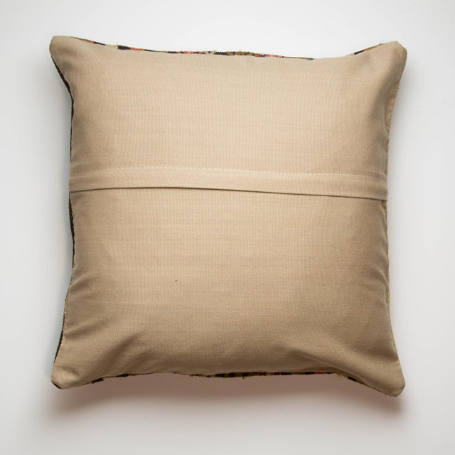 Turkish Kilim Striped Pillowcase - Image 3 of 3