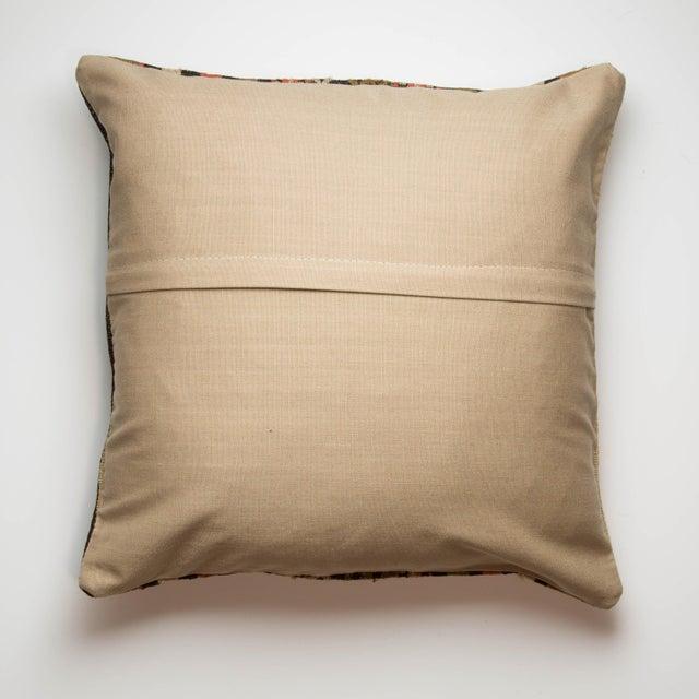 Image of Turkish Kilim Striped Pillowcase